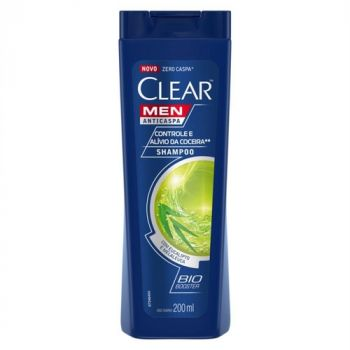 SHAMPOO ALIVIO DA COCEIRA 200ML - CLEAR MEN